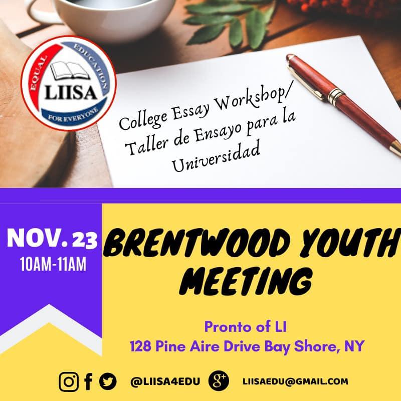 Meetings Nov 2019